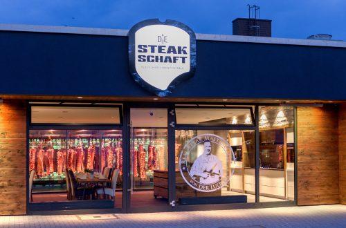 Die Steakschaft Außenansicht