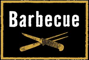 """Logo mit der Aufschrift """"Barbecue"""""""